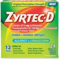 Zyrtec-D Allergy + Congestion Tablets