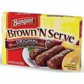 Banquet Brown'N Serve Sausage, Links or Patties