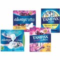 Always Infinity or Radiant Pads 13 - 18 ct. or Tampax Pearl or Radiant Tampons 14 - 18 ct.