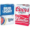 12-Pack Budweiser, Miller, or Coors Beer