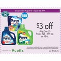 Any One (1) Purex 128 - 195 oz. or 45 ct.