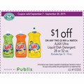 ON ANY TWO (2) MIX or MATCH: AJAX Ultra Liquid Dish Detergent 28 or 52 oz.