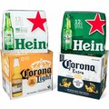 12-Pack Heineken or Corona Beer