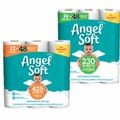 Angel Soft Bath Tissue 12 Mega Roll or 24 Double Roll