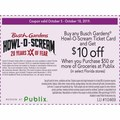 Buy any Busch Gardens® Howl-O-Scream Ticket Card