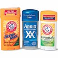 Arm & Hammer Essentials or Ultramax Deodorant