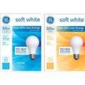 GE Halogen Soft White Bulbs 4 pk.