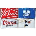 15-Pack Budweiser or Bud Light Beer