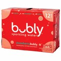 12-Pack Bubly Sparkling Water