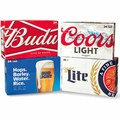 24-Pack Budweiser, Miller, or Coors Beer