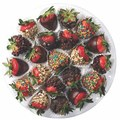 CHOCOLATE-COVERED STRAWBERRIES Medium Platter