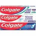 Colgate Triple Action, Baking Soda & Peroxide Whitening or Cavity Protection Toothpaste 4 oz.