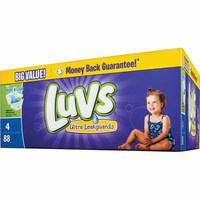 Luvs big-pack diapers