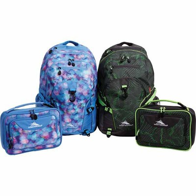 High Sierra® backpacks and lunch bags