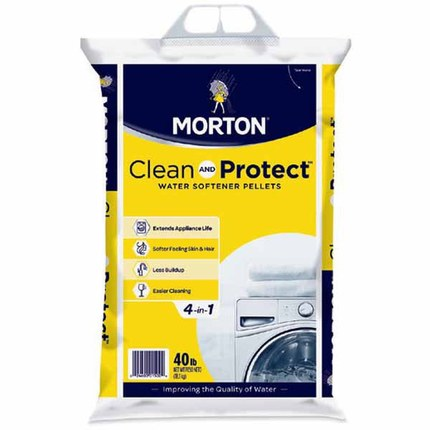 Morton® 40 lb. Clean and Protect Pellets