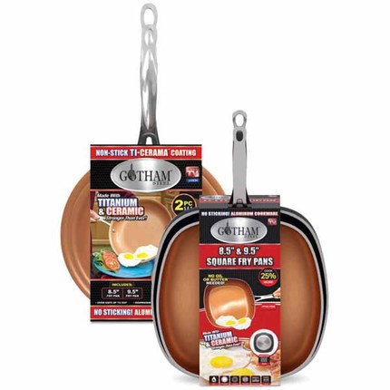 Gotham™ Steel 2 pk. Steel Pan Set