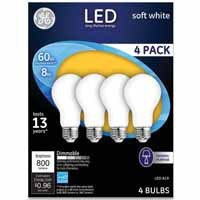 GE® 4 pk. LED Bulbs