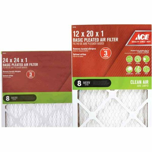 "Ace 1"" Basic Pleated Air Filter"