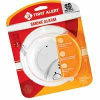 First Alert® Hardwired Smoke Alarm with Battery Backup