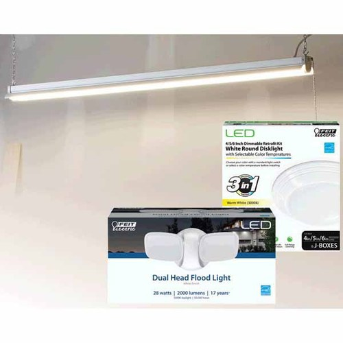 LED Retrofit Light Kits, Flood Lights or Shop Light