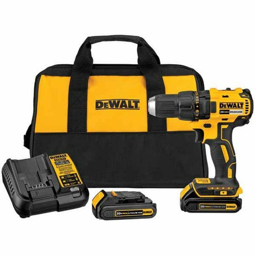 DEWALT® 20-Volt MAX* Lithium Ion 1/2-in Compact Brushless Cordless Drill/Driver with Soft Case