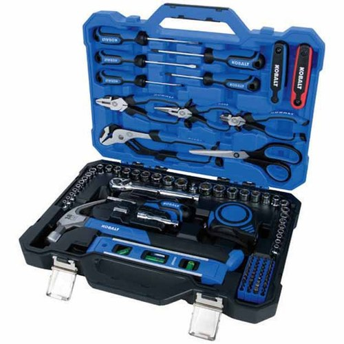 Kobalt 109-Piece Home Repair Kit with Hard Case