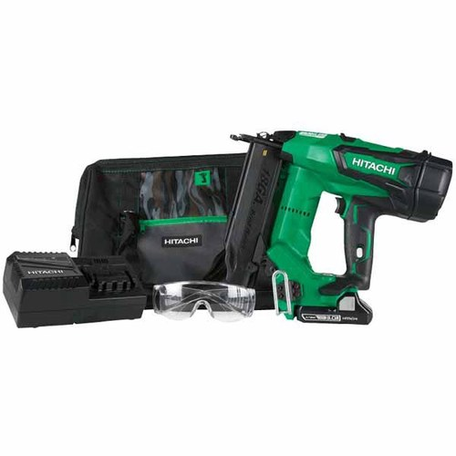 Hitachi 18-Volt Lithium Ion 18-Gauge 2-in Brushless Cordless Brad Nailer