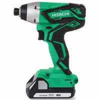 Hitachi 18-Volt Lithium Ion 1/4-in Cordless Impact Driver with Hard Case