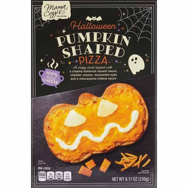 Mama Cozzi's Pizza Kitchen Halloween Pumpkin-Shaped Pizza