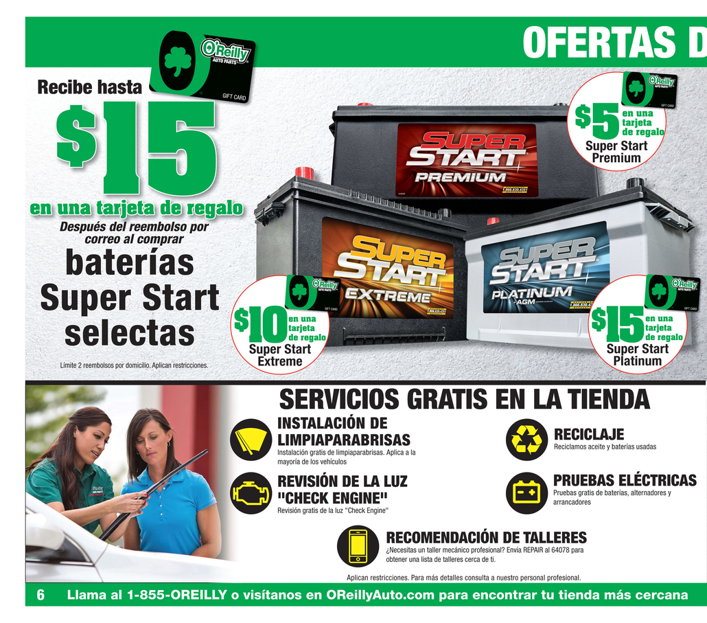 Shoplocal - Deals at O'Reilly Auto Parts
