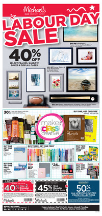 Pitt Meadows Michaels Weekly Ad