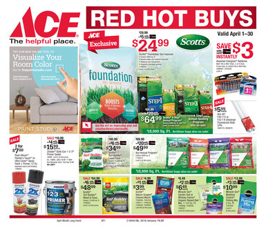April Red Hot Buys