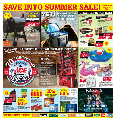 Save into Summer Sale