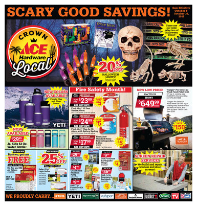 Scary Good Savings!