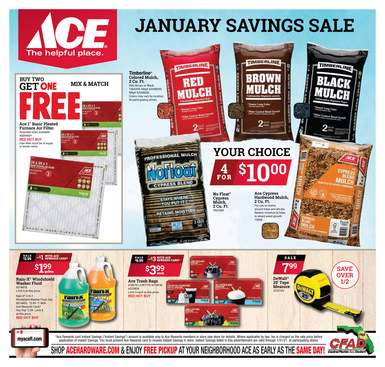 January Savings Sale